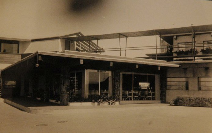 original Stockyards Cafe, 1950 - photo from Stockyards Restaurant's Facebook page