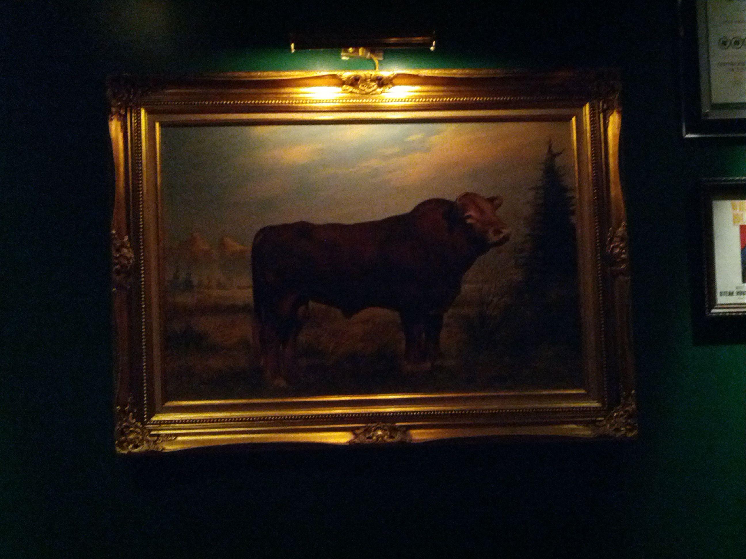 The Steak House art