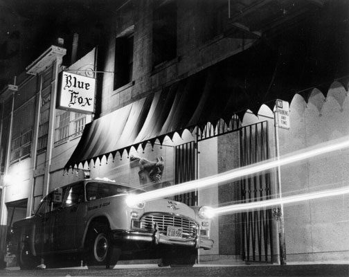 Blue Fox restaurant, San Francisco