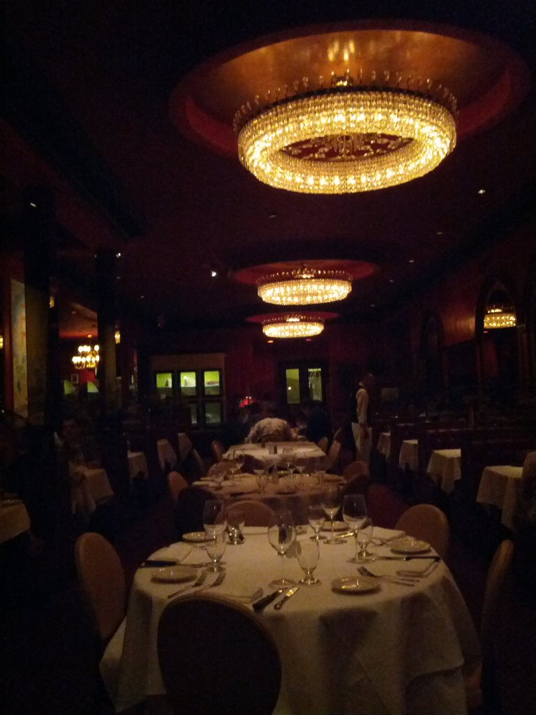 main dining room - photo by Dean Curtis