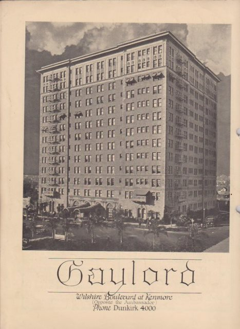 image by Gaylord Apartments' facebook page