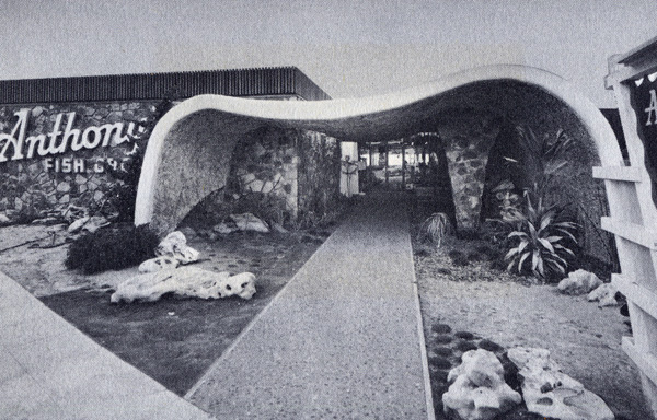 Anthony's Fish Grotto La Jolla, 1961 - photo by Modern San Diego