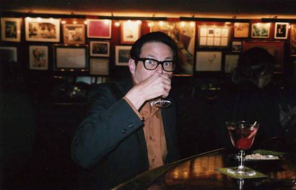 yours truly at Boadas - photo by Jeffrey Gouin, 2004