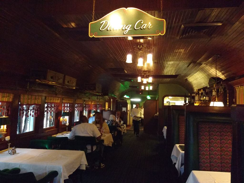 Pacific Dining Car Los Angeles California Closed Le Continental